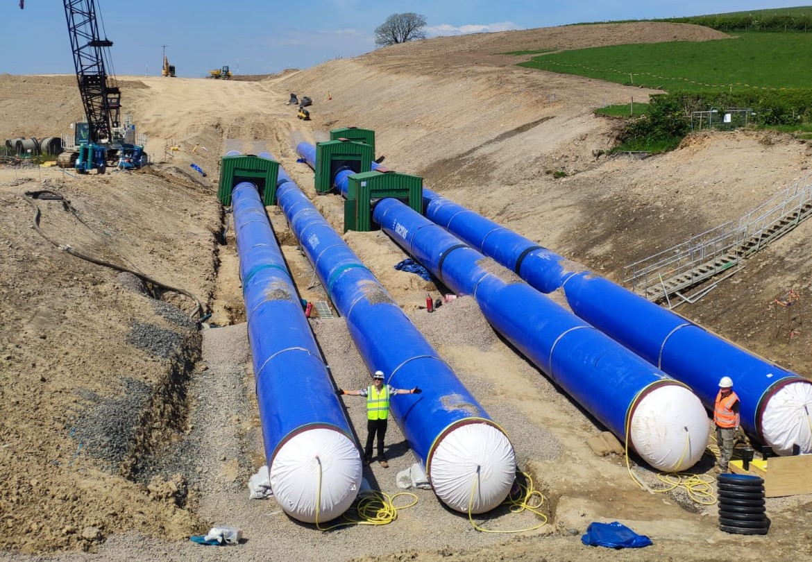 Pipe Bursting With Large Projects